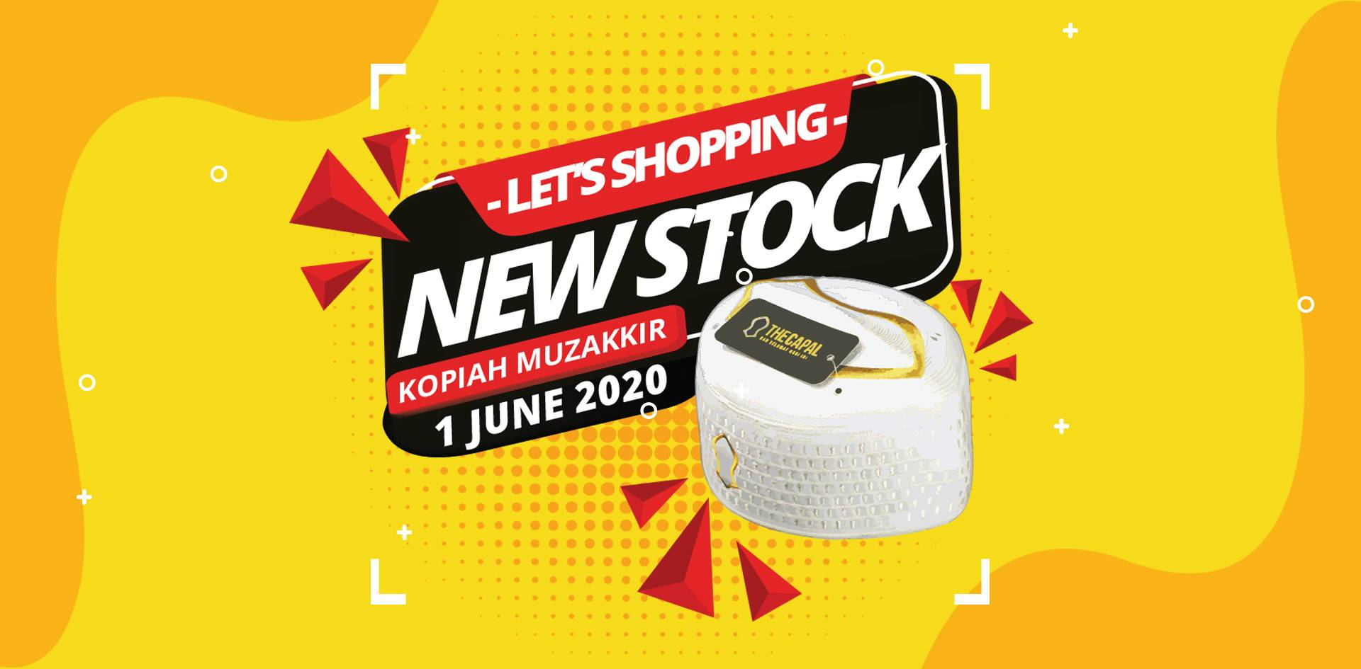 Kopiah New Stock