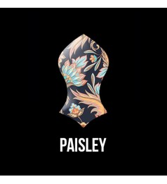 Press Pin Paisley