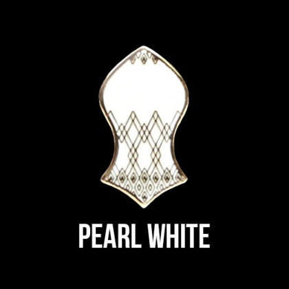 Press Pin Pearl White