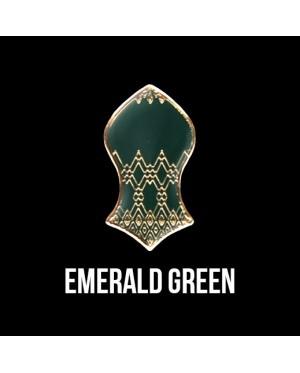 Press Pin Emerald Green