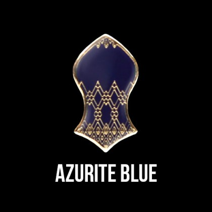Press Pin Azurite Blue