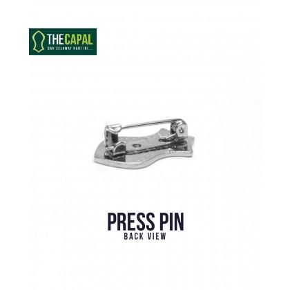 Press Pin Black
