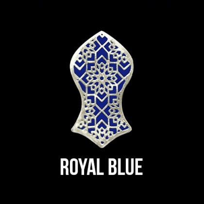 Press Pin Royal Blue