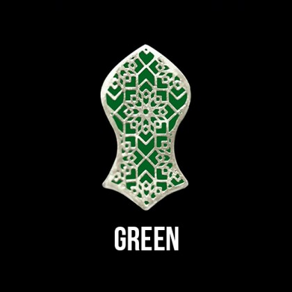 Press Pin Green