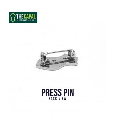 Press Pin Brown