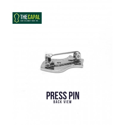 Press Pin Brown
