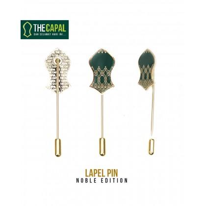 Lapel Pin Emerald Green