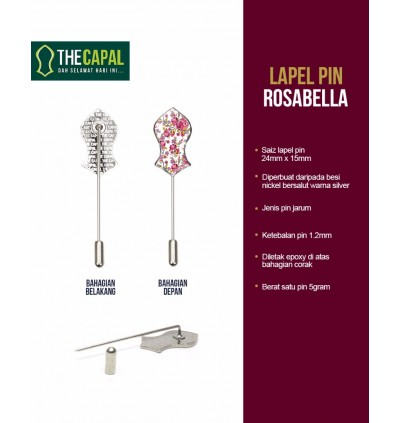 Lapel Pin Rosabella