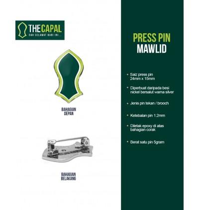 Press Pin Mawlid