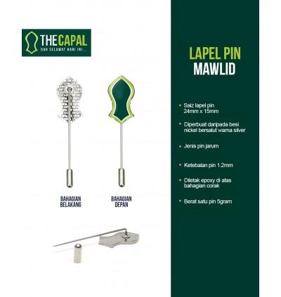 Lapel Pin Mawlid