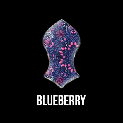 Press Pin Blueberry