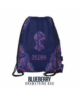 Drawstring Bag Blueberry