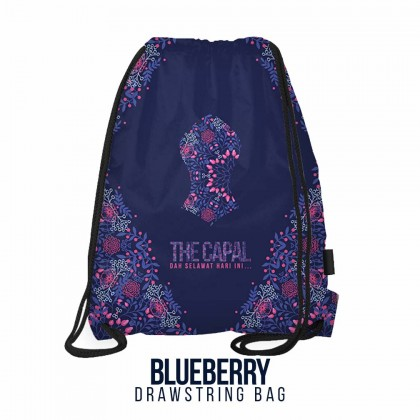 Drawstring Bag Blueberry