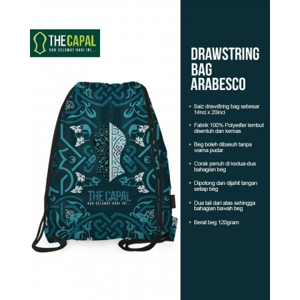 Drawstring Bag Arabesco