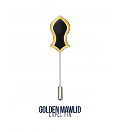 Lapel Pin Golden Mawlid
