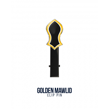 Clip Pin Golden Mawlid
