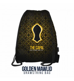 Drawstring Bag Golden Mawlid