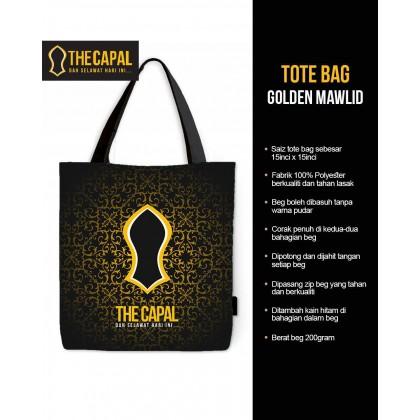 Tote Bag Golden Mawlid