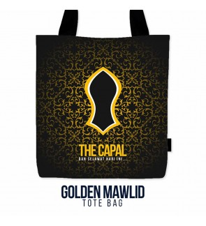 Tote Bag Golden Mawlid