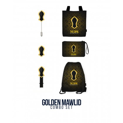 Golden Mawlid Combo Set