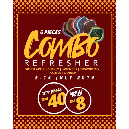 Refresher Combo All Flavour