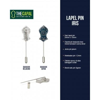 Lapel Pin Iris