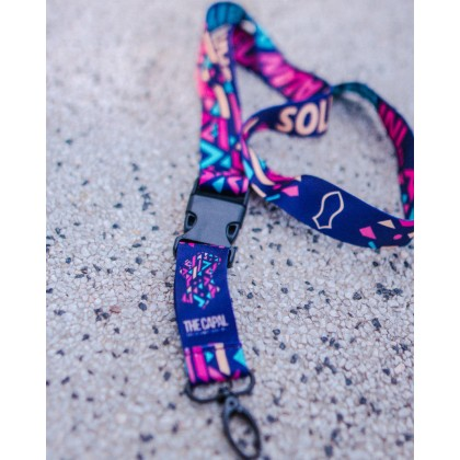 Retro Poly Lanyard