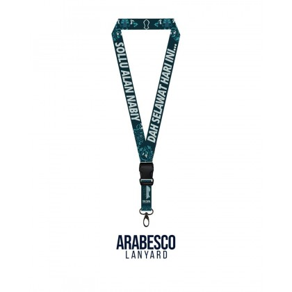 Arabesco Poly Lanyard