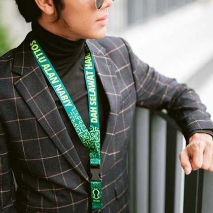 """Combo Lanyards 5 Pcs (Mixed designs) """"Dah Selawat Hari Ini.."""""""