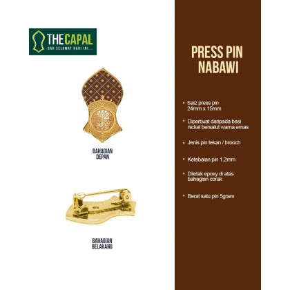 Press Pin Nabawi