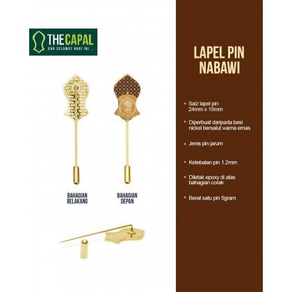 Lapel Pin Nabawi
