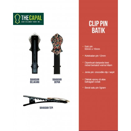 Clip Pin Batik