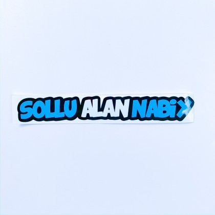 Sollu Alan Nabiy Sticker