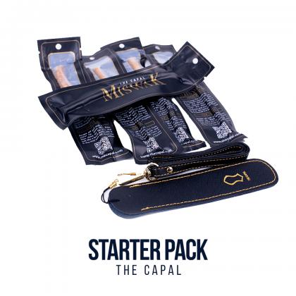 Miswak Starter Pack (1pc Leather Holder + 5pcs Miswak)