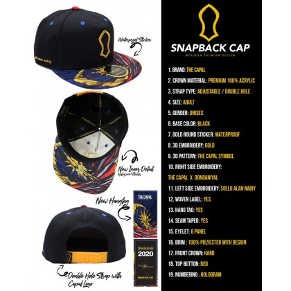 Snapback Cap The Capal X Don Daniyal Merdeka Special Edition 2020