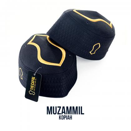 Kopiah Muzammil The Capal [Black]