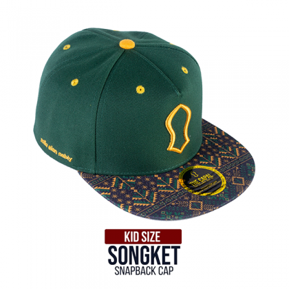 Snapback Cap Songket 2021 New Year Special Edition