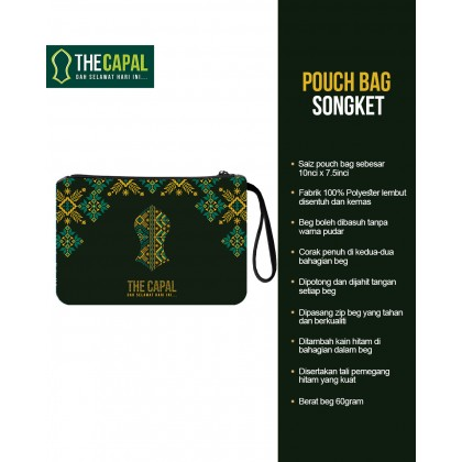 Pouch Bag Songket 2021