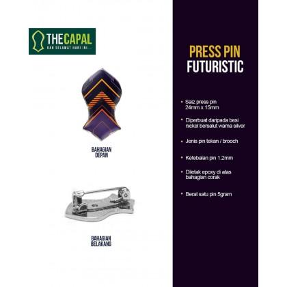 Press Pin Futuristic 2021